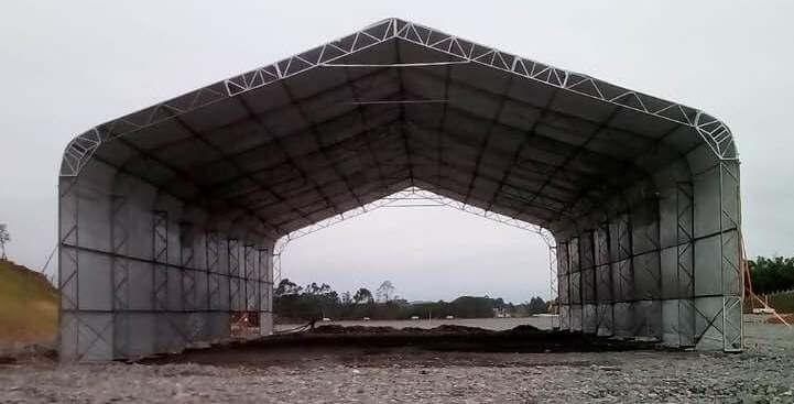 Cobertura para Galpão Industrial no Paraná