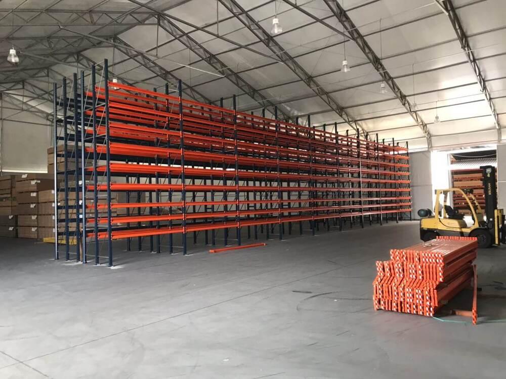 Galpão lonado galpão para armazenamento no Mato Grosso do Sul
