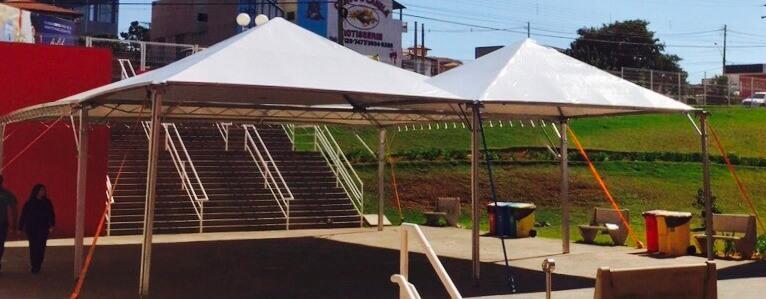 Tenda Pirâmide no Paraná
