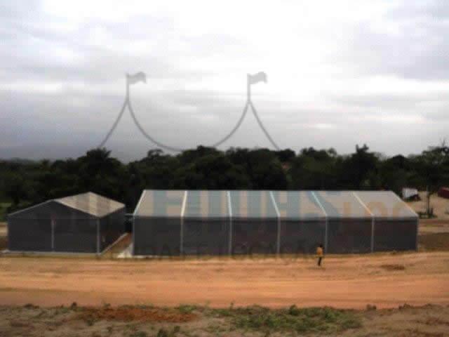 Cobertura para Canteiro de Obras no Paraná